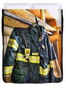Fireman - Saftey Jacket Duvet Cover