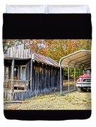 Fireman Cottage Duvet Cover by Douglas Barnard