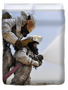 Firemen Learn How To Effectively Work Duvet Cover