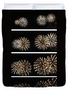 Firework Lifecycle 1 Duvet Cover