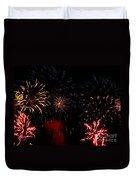 Fireworks At Oshkosh Airventure 2012. 01 Duvet Cover