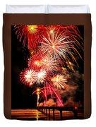 Fireworks Away Duvet Cover