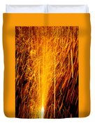 Fireworks Fountain Duvet Cover