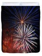 Fireworks Rectangle Duvet Cover