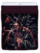Fireworks Two Duvet Cover