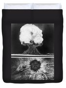 First Atomic Bomb, 1945 Duvet Cover
