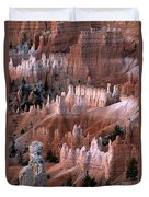 First Light In Bryce Canyon Duvet Cover