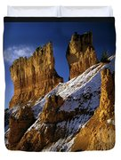 First Snow At Bryce Canyon Duvet Cover