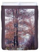 First Snow. Winter Coming Duvet Cover