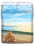 First Sunshine Duvet Cover