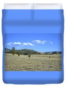 Fish Creek Valley II Duvet Cover