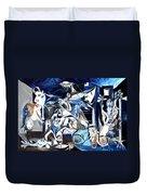 Fish Guernica Duvet Cover