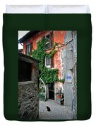 Fisherman's Isle Italy Duvet Cover