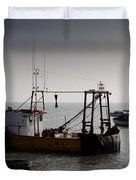 Fishing Boat Essex Duvet Cover