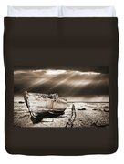 Fishing Boat Graveyard 9 Duvet Cover