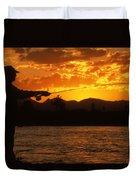Fishing The Madison Duvet Cover