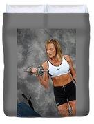 Fitness 5 Duvet Cover