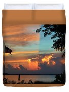 Fitting Sunset Duvet Cover
