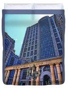 Five Hundred Boylston - Boston Architecture Duvet Cover
