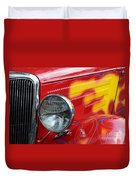 Flaming Hot Rod 2 Duvet Cover