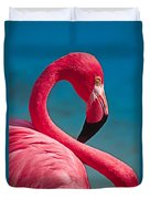 Flexible Flamingo Duvet Cover