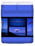 Flight Of Fantasy No Caption Duvet Cover