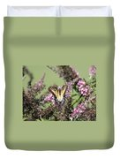 Flitter - Butterfly - Swallowtail Duvet Cover