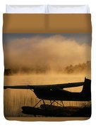 Float Plane, Long Lake, Sudbury, Ontario Duvet Cover