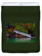 Floating Dock Duvet Cover