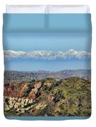 Floating In The Sky Duvet Cover