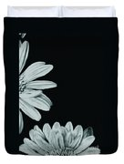 Flora Greetings Duvet Cover