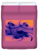 Floral Abstact Duvet Cover