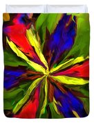Floral Abstraction 090312 Duvet Cover