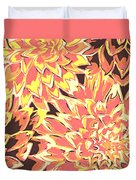 Floral Abstraction 18 Duvet Cover