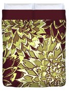 Floral Abstraction 19 Duvet Cover