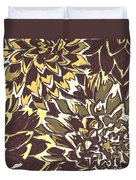 Floral Abstraction 21 Duvet Cover