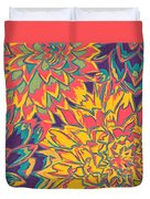 Floral Abstraction 22 Duvet Cover