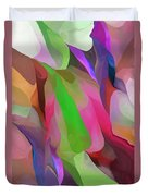 Floral Abstraction Duvet Cover