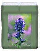 Floral Crystal Duvet Cover