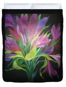 Floral Fantasy 1 Duvet Cover