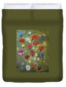 Floral Fields Duvet Cover