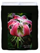 Floral Fist Duvet Cover