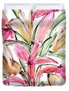 Floral Fourteen Duvet Cover