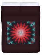 Floral Geometric 102311a Duvet Cover