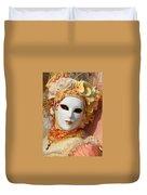 Floral Queen Portrait 2 Duvet Cover