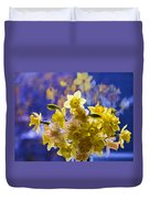 Floral Reflections Duvet Cover
