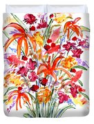 Floral Six Duvet Cover