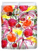 Floral Thirteen Duvet Cover