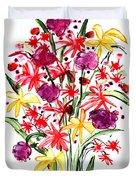 Floral Three Duvet Cover