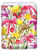Floral Twelve Duvet Cover